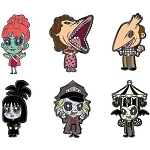 Universal Loungefly Mystery Pin - Beetlejuice Characters