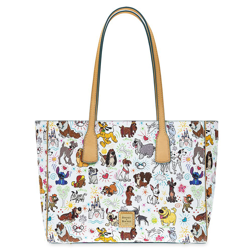 Disney Dooney and Bourke Bag - Paw Prints - Tote