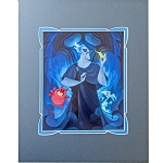 Disney Print - Joey Chou - Hades with Pain and Panic