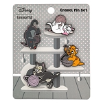 Disney Loungefly Pin Set - Cats of Disney