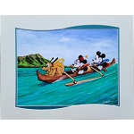 Disney Print - Doug Bolly - Smile and Wave