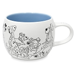 Disney Coffee Cup - Reigning Cats and Dogs - Disney Dogs
