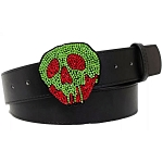 Disney Designer Belt - Crystal Rhinestone Poison Apple Evil Queen