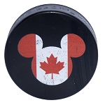 Disney Hockey Puck - EPCOT World Showcase - Canada Pavilion