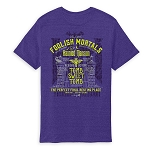 Disney Adult Shirt - Haunted Mansion - Foolish Mortals