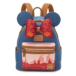 Disney Parks Loungefly Mini Backpack - Minnie Main Attraction - Big Thunder Mountain Railroad