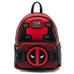 Disney Loungefly Mini Backpack - Marvel - Deadpool Merc with a Mouth Cosplay
