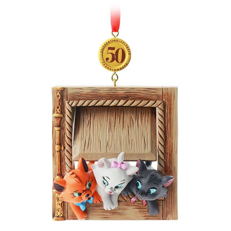 Disney Ornament - Legacy Sketchbook - 50th Anniversary Aristocats