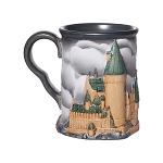 Universal Coffee Cup Mug - Harry Potter Sculpted Hogwarts Castle