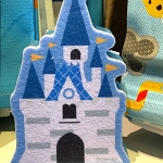 Disney Kitchen Sponge - Cinderella Castle
