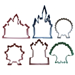 Disney Cookie Cutter Set - Mouse Wares - Park Icons