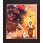 Disney Artist Print - Star Wars Group - Poe Dameron