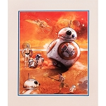 Disney Artist Print - Star Wars Group - BB-8