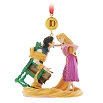 Disney Ornament - Legacy Sketchbook - 10th Anniversary Tangled