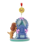 Disney Ornament - Legacy Sketchbook - 65th Anniversary Lady and the Tramp