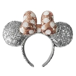 Disney Ear Headband - Minnie Mouse Silver and Gold