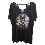 Disney Ladies Shirt - Jasmine Becket-Griffith Villains Trio Tee
