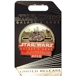 Disney Star Wars Pin - Galaxy's Edge Landing 2019 Millennium Falcon Slider