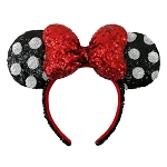 Disney Ears Headband - Classic Minnie Mouse - Polka Dot