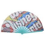 Disney Hand Fan - Japanese Style Personal Fan - Walt Disney World Logo