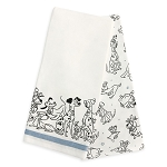 Disney Kitchen Towel Set - Reigning Cats and Dogs - Disney Dogs