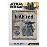 Disney Puzzle - Star Wars - The Mandalorian - The Child - Wanted Poster