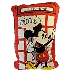 Disney Pillow - Epcot UK Mickey and Minnie Phone Booth