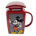 Disney Coffee Cup Mug - Epcot UK Mickey and Minnie Phone Booth