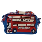 Disney Belt Bag - Epcot UK Pavilion Mickey Double Decker Bus