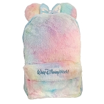 Disney Backpack Bag - Furry Pastel with Sequined Minnie Bow