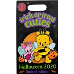 Disney Pin - Halloween 2020 - Trick or Treat Cuties - Pooh and Piglet