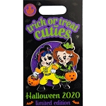 Disney Pin - Halloween 2020 - Trick or Treat Cuties - Max and Roxanne