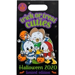 Disney Pin - Halloween 2020 - Trick or Treat Cuties - Huey Dewey and Louie