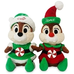 Disney Plush Set - Chip and Dale Holiday Elves