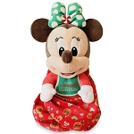 Disney Baby in a Blanket Plush - Holiday Babies Collection - Minnie Mouse