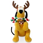 Disney Plush - Holiday Collection - Reindeer Pluto