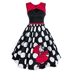 Disney Dress Shop Women's Dress - Minnie Mouse Polka Dot