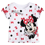 Disney Toddler Shirt - Minnie Mouse Polka Dot Bows