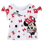 Disney Baby Shirt - Minnie Mouse Polka Dot Bows
