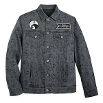 Disney Denim Jacket for Men - Jack Skellington
