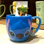 Disney Coffee Cup & Spoon Set - Stitch & Scrump - Trouble Maker