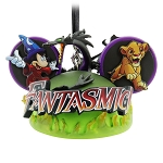 Disney Mickey Ear Hat Ornament - Fantasmic!
