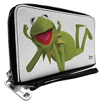 Disney Muppets Zip Around Wallet and Phone Case - Large - Kermit the Frog