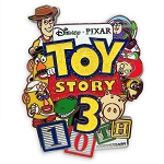 Disney Toy Story 3 Pin - Toy Story 3 10th Anniversary
