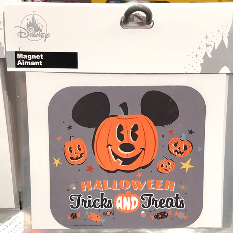 Disney Car Magnet - Pumpkin Mickey - Halloween Tricks and Treats