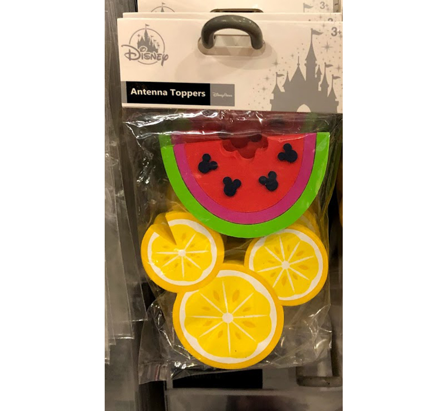 Disney Antenna Topper 2 pack - Mickey Icon Fruit