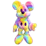 Disney Plush - Pastel Rainbow Mickey Mouse