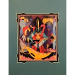 Disney Artist Print - Ori Toor - Disney Villains Project - Jafar