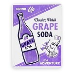 Disney Tin Magnet - Pixar Up - Grape Soda