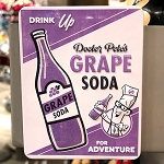 Disney Magnet - Pixar Up - Grape Soda